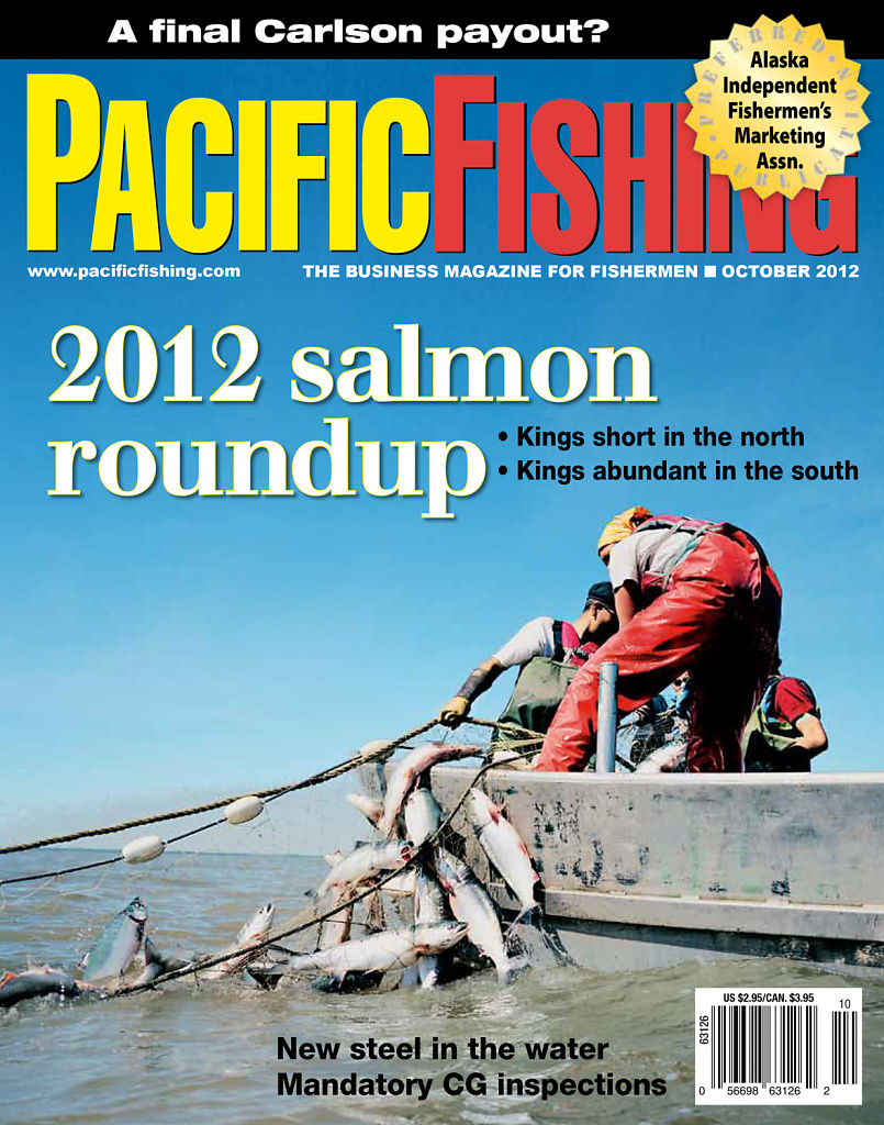 Pacific Fishing, October 2012